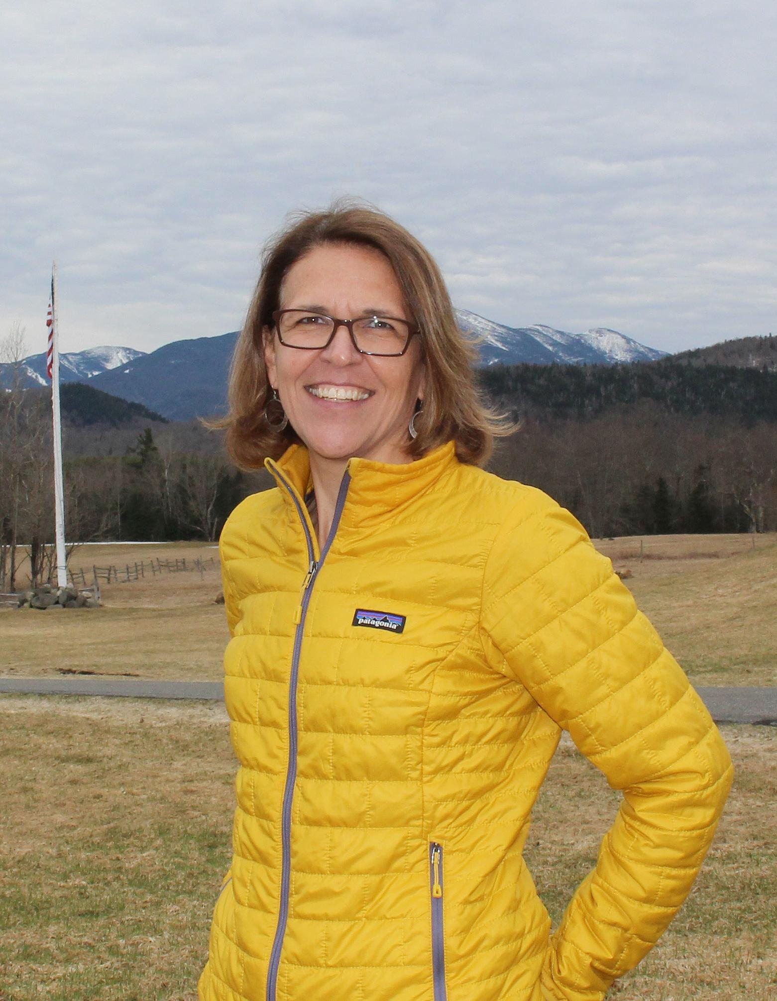 Connie Prickett, Vice President of Communications & Strategic Initiatives of Adirondack Foundation