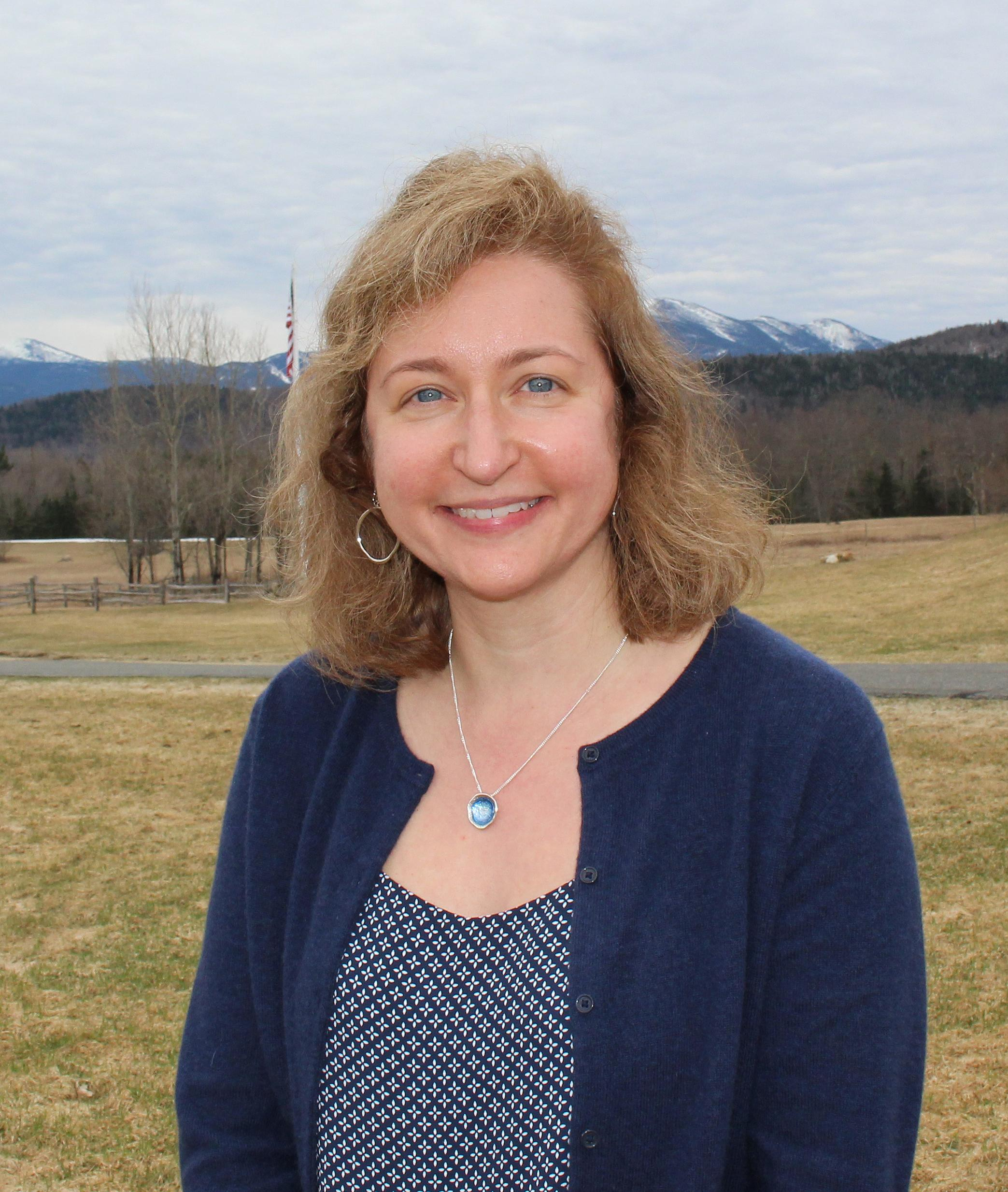 Janine Scherline, Director of Donor Engagement at Adirondack Foundation